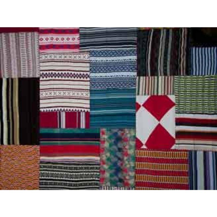 Carpet patchwork kleur 160 x 230 cm
