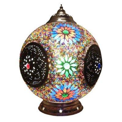 Tafellamp multi colour iron