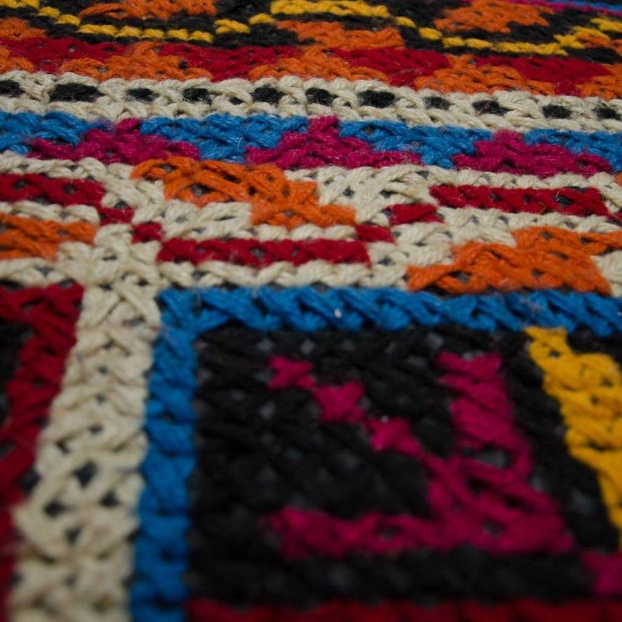 Wollen kleed kleurrijk 160 x 230 cm