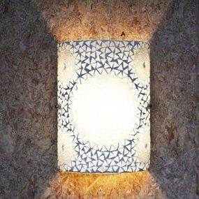 Wandlamp mozaïek