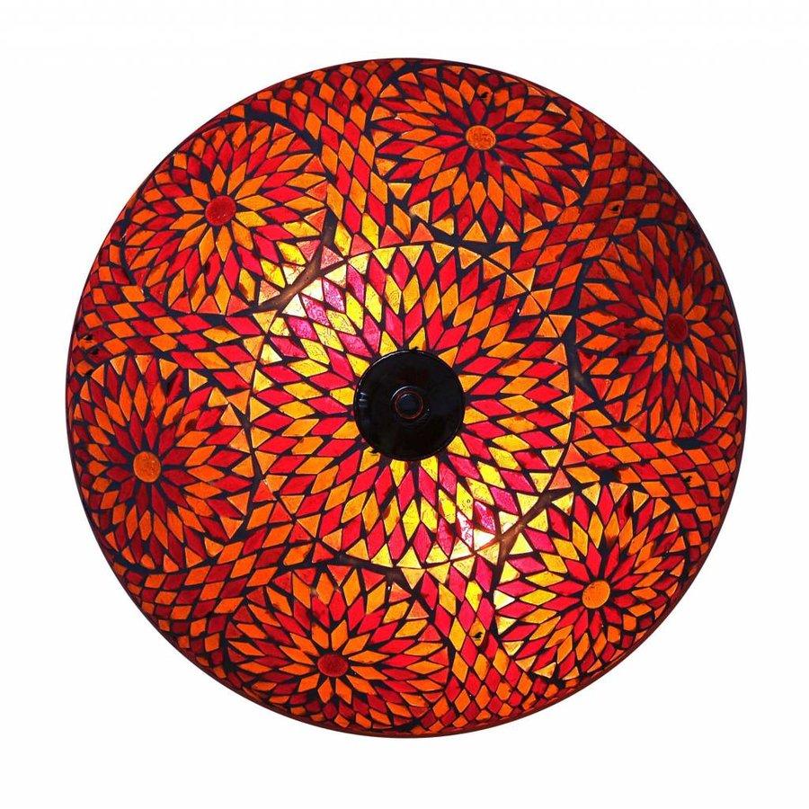 plafonniere mozaïek rood ruit turkisch design