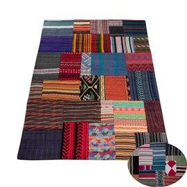 Carpet patchwork kleur