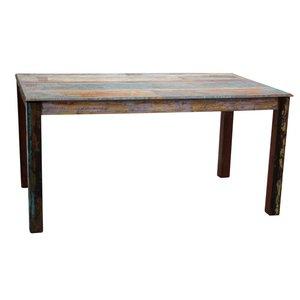 Eettafel scrapwood 220 cm
