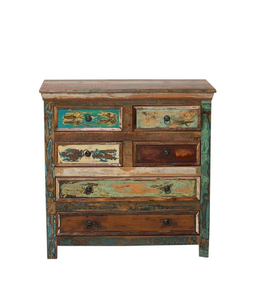 Oosterse sloophout meubels kleurrijk uniek for Sloophout meubels