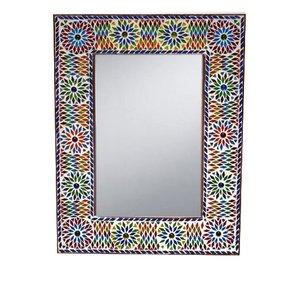 Spiegel mozaiek multi