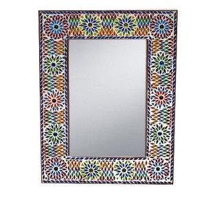 Spiegel mozaiek multi colour kraal turk