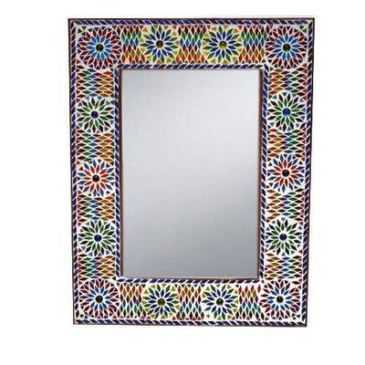 Spiegel mozaiek multi colour turkisch design xl