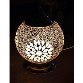 Tafellamp glasmozaïek