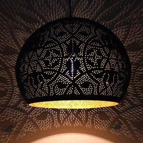 Filigrain lamp met gaatjes