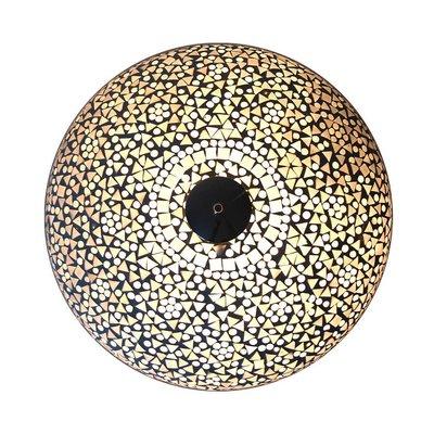 Plafonniere wit mozaiek