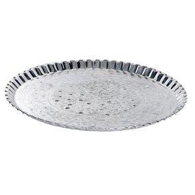 Grote zilveren schaal
