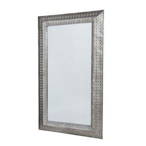 Zilveren spiegel orientaals