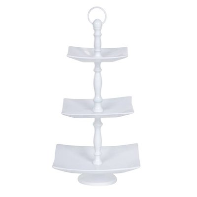 3 laags etagere wit