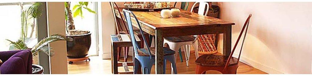 Scrapwood meubelen voor een oosterse sfeer