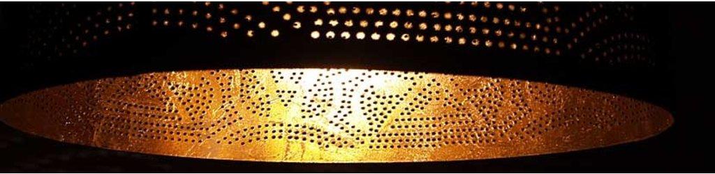 Filigrain lampen met gaatjes (effect lamp)