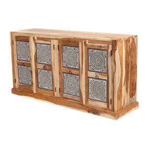 Mozaiek kast multi colour