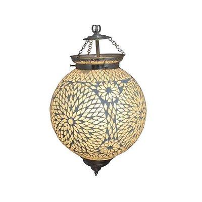 Hanglamp mozaïek bol transparant turkisch design
