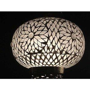 Hanglamp mozaïek transparant turkisch design mooie lamp