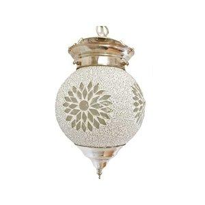 Hanglamp transparant mozaïek kraal