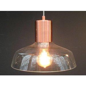 Eettafellamp koper 3 delig