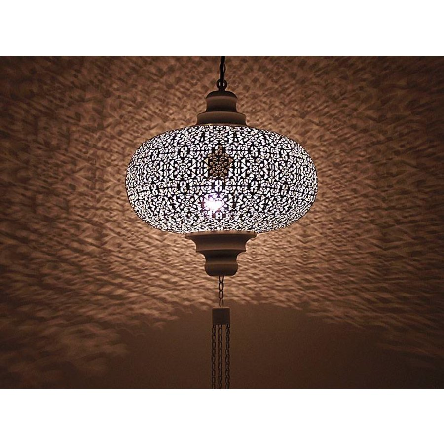 Bruine orientaalse hanglamp