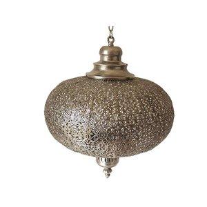Antique zilver hanglamp