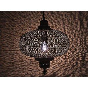 Antique grijs hanglamp