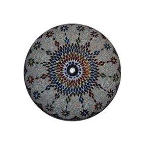 Oosterse plafonnière multi color kraal nieuw design