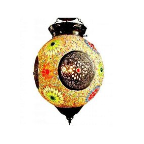 kleurrijke hanglamp