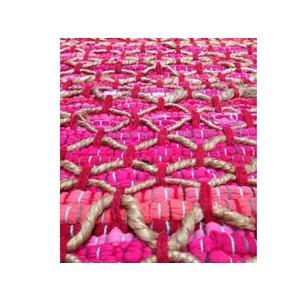 Roze vloerkleed