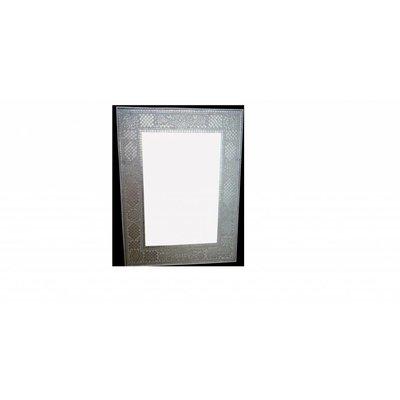 Spiegel transparant mozaiek 80 x 60 cm