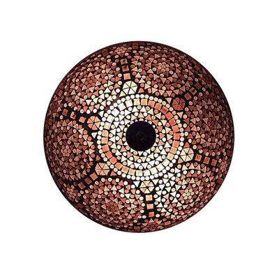 Plafonniere paars 24 cm