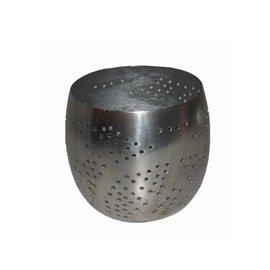 Waxinelicht filigrain zilver