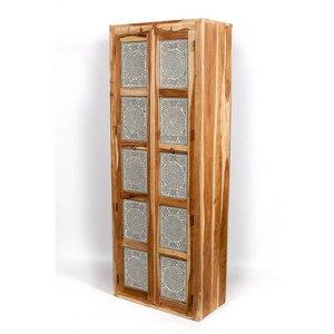 mozaiek kast 200 cm transparant
