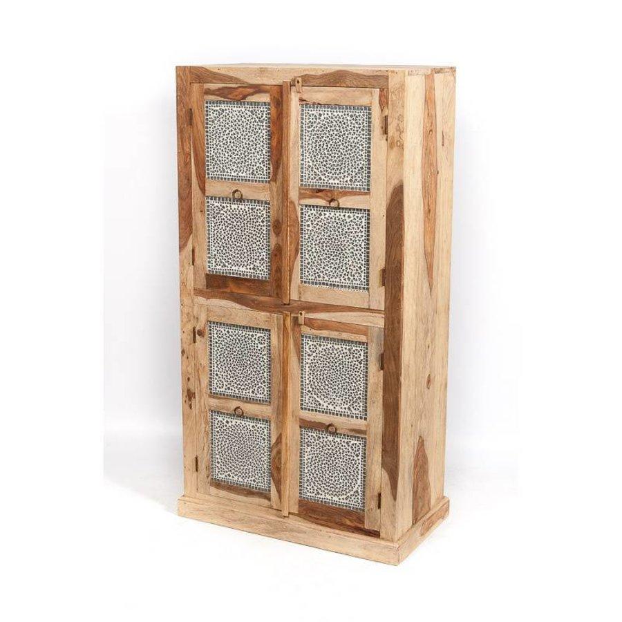 Mozaiek oosterse kast transparant