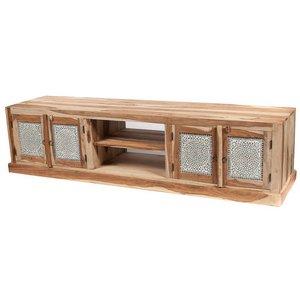 Tv kast transparant mozaiek