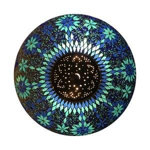 Blauwe plafonnière