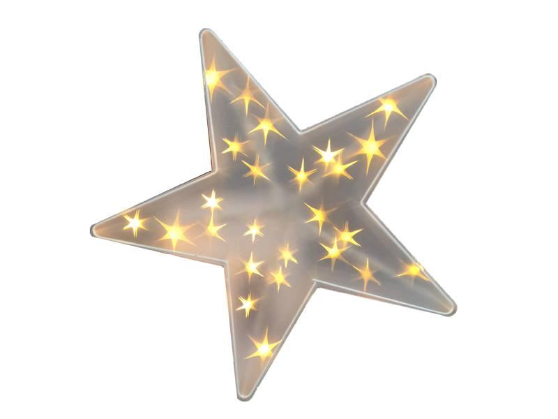 Kerstster met 25 stuks ledverlichting - Merel in Wonderland