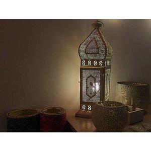 Oosterse lantaarn wit mysore