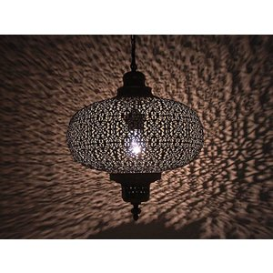 Grijze lampion orientaal