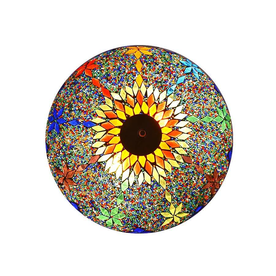 Plafonniere rainbow kleurrijk