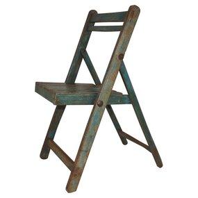 Klapstoel hout vintage