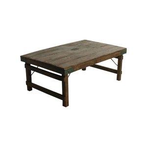 Indiase salontafel sloophout
