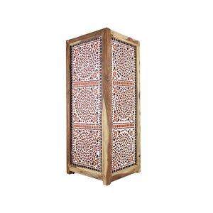 Staande lamp mozaïek rood oranje traditioneel design