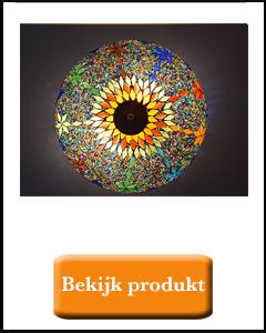 Kleurrijke plafondlamp