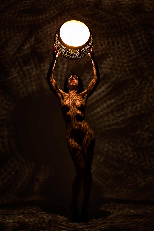 Filigrain lampen als kunst