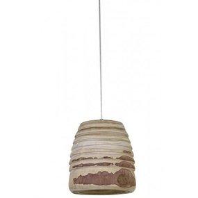Houten hanglamp