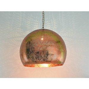 Oosterse koperen hanglamp