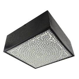 Vierkante filigrain plafonniere