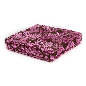 Roze loungekussen vierkant